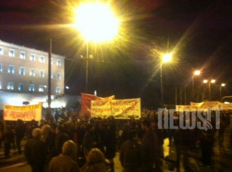 Συγκέντρωση του ΣΥΡΙΖΑ στο Σύνταγμα – Δείτε φωτό | Newsit.gr