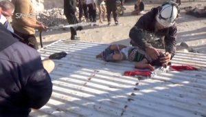 Φρίκη δίχως τέλος στην Συρία! Μετά τα χημικά… τους «αποτελείωσαν» με βόμβες [pics, vids]