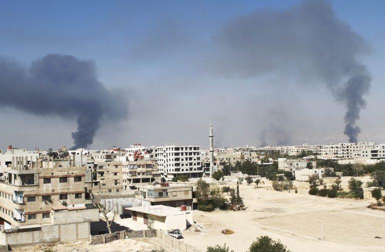 Συρία: 40 νεκροί μέχρι το απόγευμα σε Χαλέπι και Δαμασκό   Newsit.gr