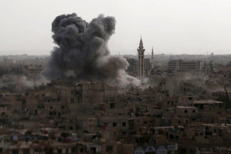 Ξεκίνησε η αεροπορική επιδρομή της Ρωσίας στη Συρία   Newsit.gr
