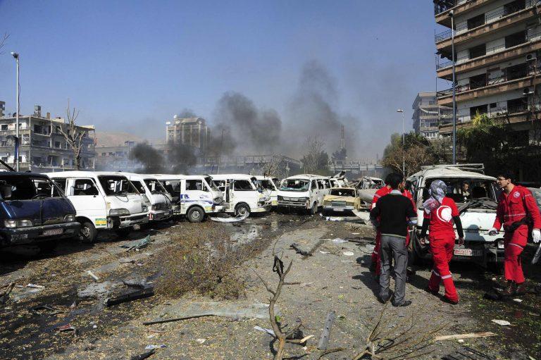 53 οι νεκροί στη Δαμασκό – 18 νεκροί απο βομβαρδισμό σε νοσοκομείο | Newsit.gr