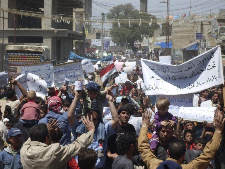 Συρία: Διαδηλώσεις παντού με 6 νεκρούς   Newsit.gr