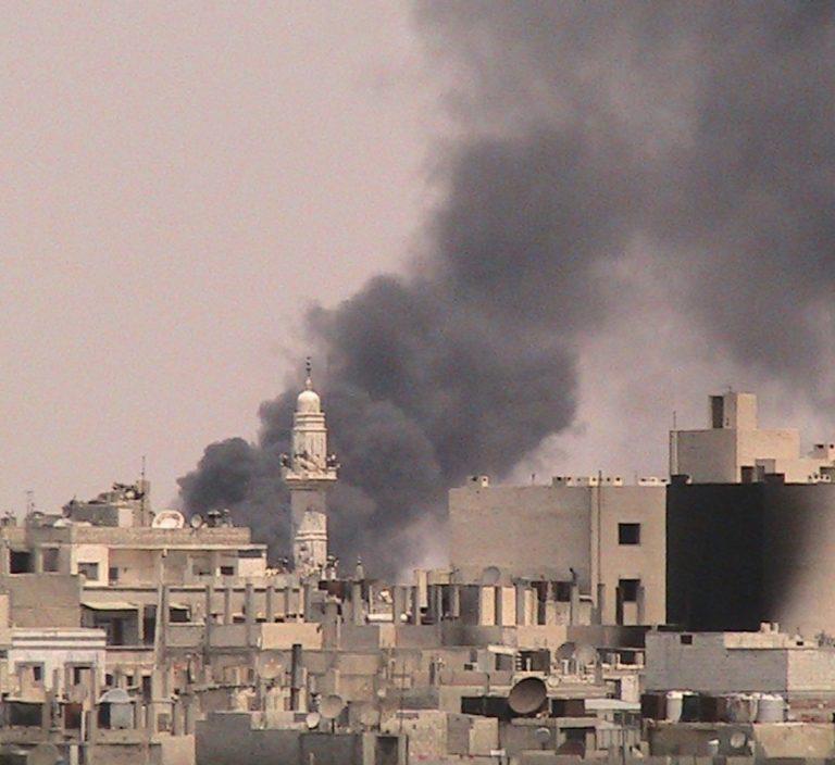 Συρία: Βίντεο από την έκρηξη κοντά σε ξενοδοχείο στη Δαμασκό | Newsit.gr
