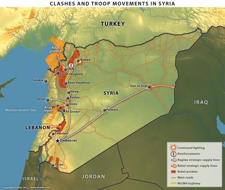Συρία: O χάρτης του πολέμου και η κρίσιμη μάχη στο Χαλέπι | Newsit.gr