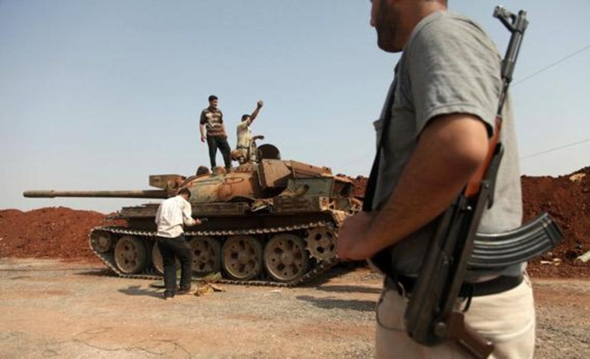 «Η Τουρκία εκπαιδεύει σε ένοπλο αγώνα την αντιπολίτευση της Συρίας»   Newsit.gr