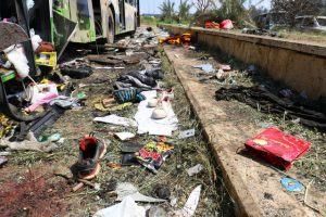Συνεχίζεται η «θυσία» των αμάχων: Πάνω από 126 νεκροί από την χθεσινή επίθεση – Ανάμεσα τους 68 παιδιά