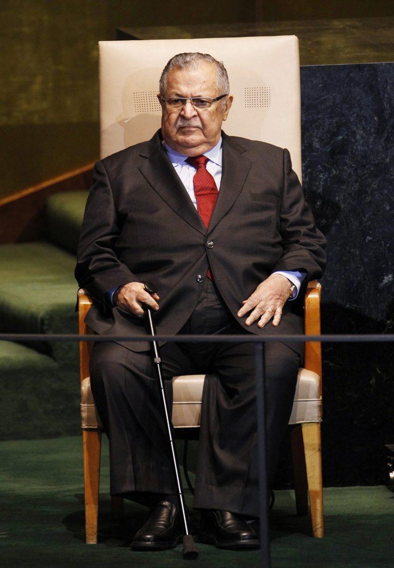 Στο νοσοκομείο με εγκεφαλικό ο πρόεδρος του Ιράκ | Newsit.gr