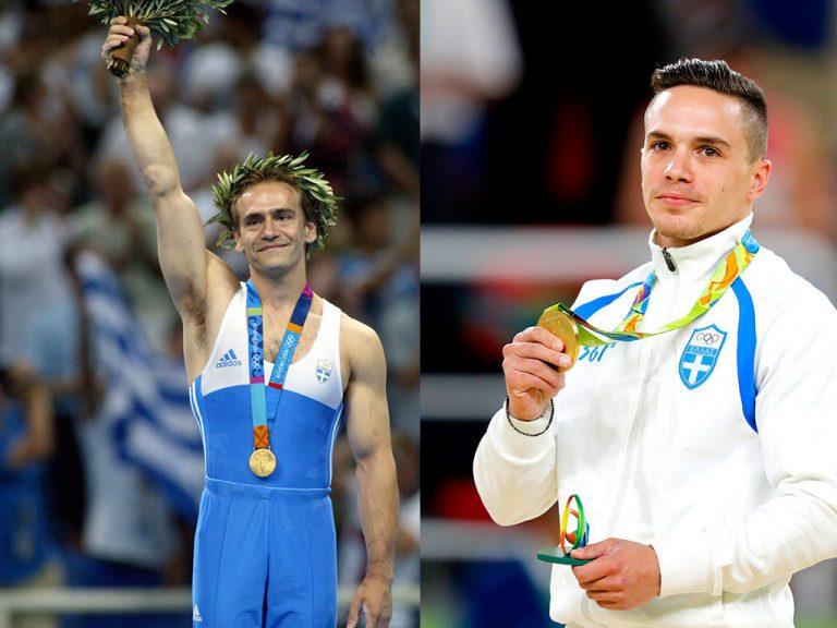 Λευτέρης Πετρούνιας – Ο Δημοσθένης Ταμπάκος υποκλίνεται στον χρυσό ολυμπιονίκη: «Θα φέρει και άλλα μετάλλια»