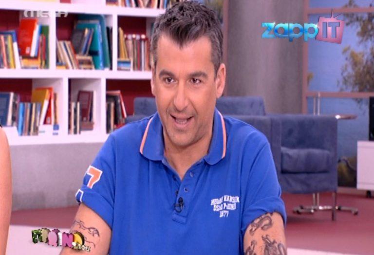 Ο Λιάγκας έκανε τατουάζ! | Newsit.gr