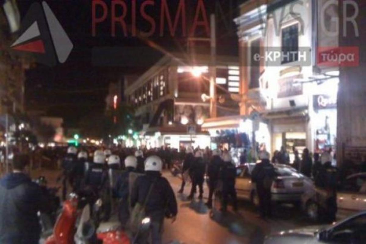 Συλλαλητήριο αντιεξουσιαστών στο Ηράκλειο | Newsit.gr