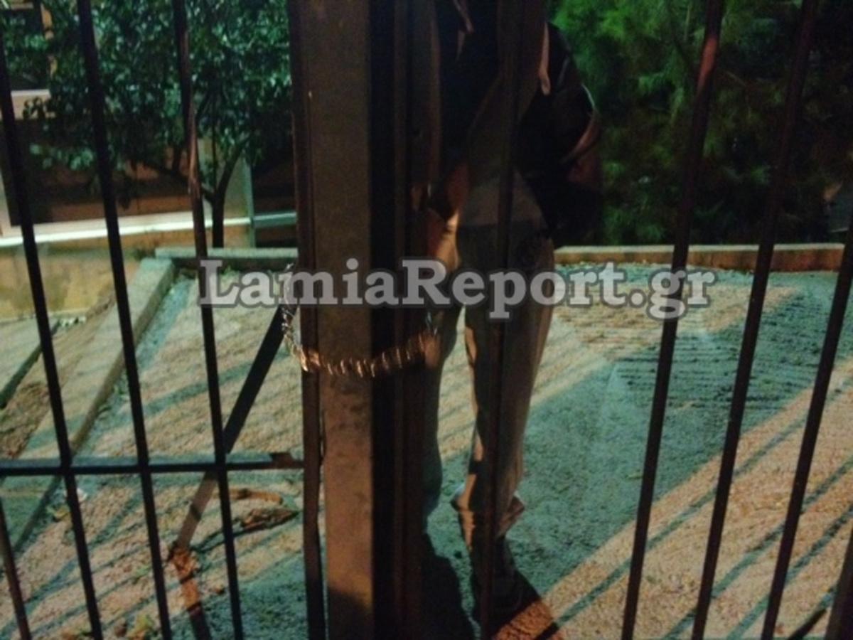 Λαμία:Η πιο επεισοδιακή απόπειρα κατάληψης σε σχολείο – Δείτε φωτό! | Newsit.gr