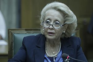 Σε Χίο και Λέσβο η υπηρεσιακή πρωθυπουργός, Βασιλική Θάνου