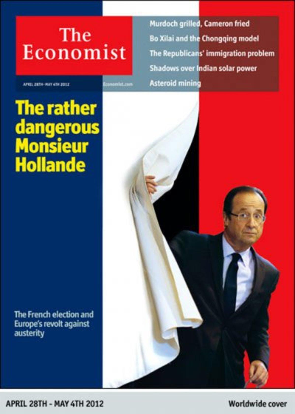 Οργή Ολάντ για τον Economist! Το περιοδικό τάχθηκε υπέρ του Σαρκοζί   Newsit.gr
