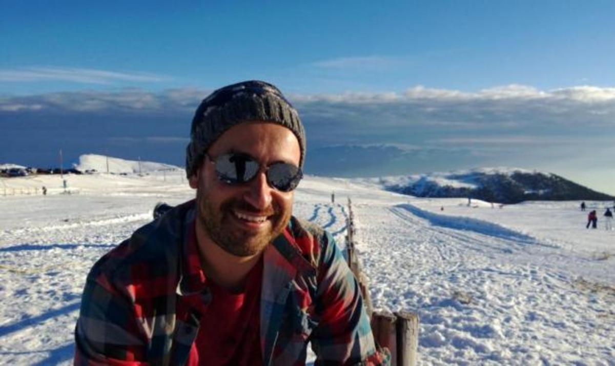 Ο Θέμης Γεωργαντάς ξεκινάει την χρονιά στα χιόνια! | Newsit.gr