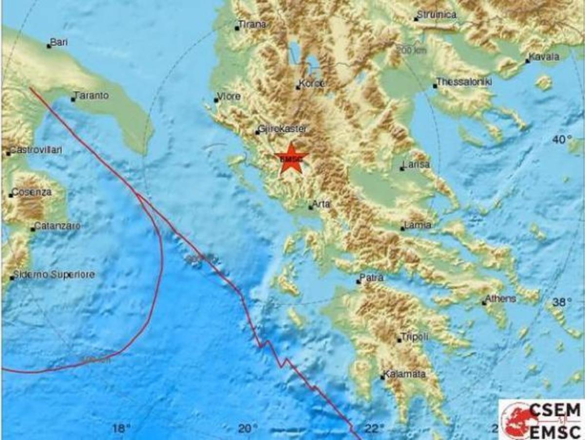 Σεισμός – Γιάννενα: 3,7 ρίχτερ ταρακούνησαν ξανά την Ήπειρο