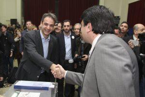 Αποτελέσματα εκλογών ΝΔ – Θεσσαλονίκη: Πρωτιά παντού για Μητσοτάκη