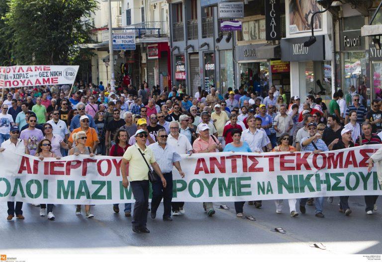 «Πλημμύρισαν» και οι δρόμοι της Θεσσαλονίκης | Newsit.gr