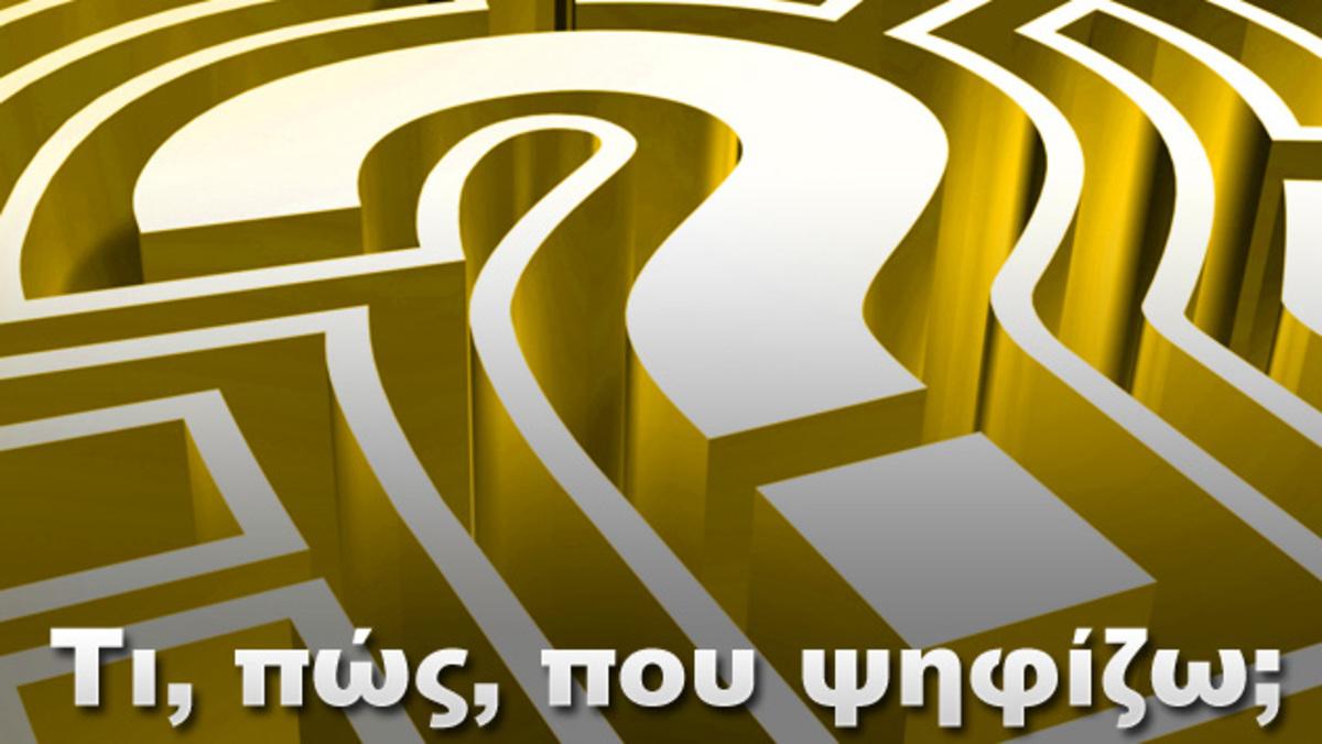 Τι, πως, που ψηφίζω | Newsit.gr