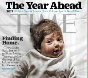 Τέσσερα νεογέννητα προσφυγόπουλα που γεννήθηκαν στην Ελλάδα εξώφυλλο στο TIME!