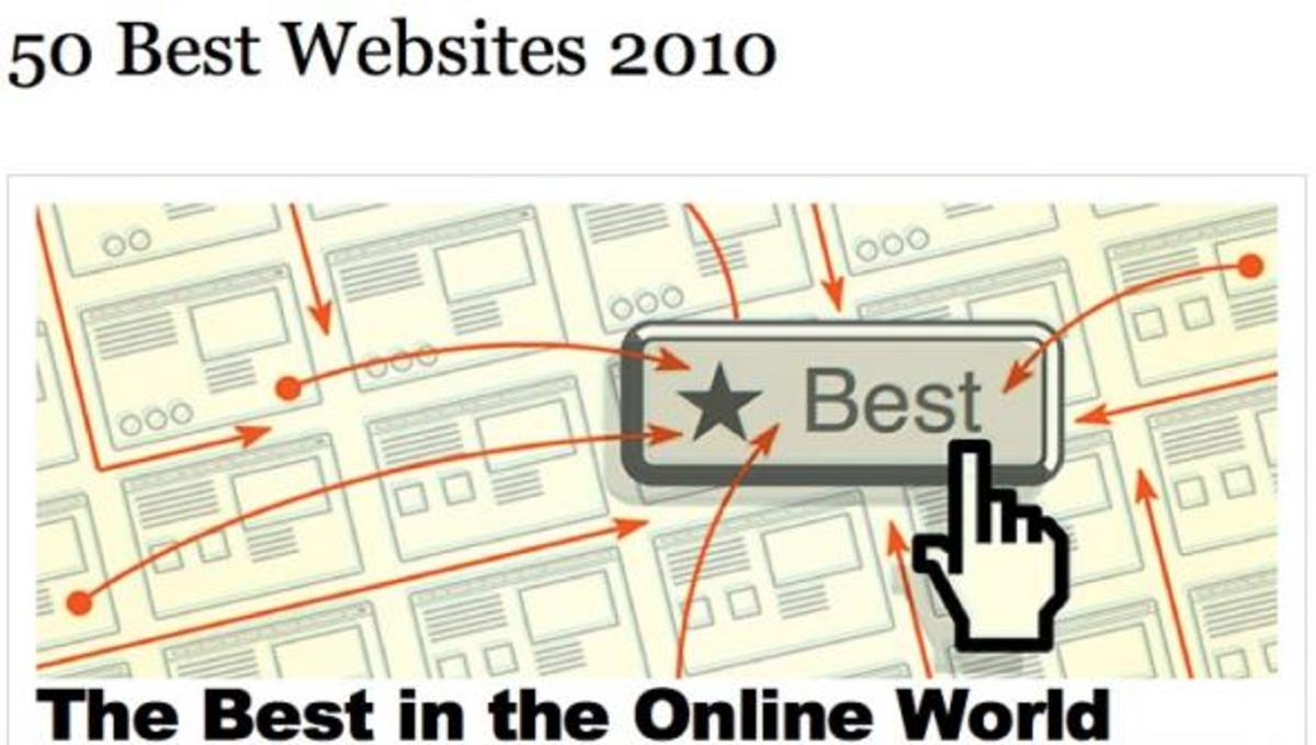 Αυτά είναι τα 50 καλύτερα sites του 2010 σύμφωνα με το περιοδικό Time! | Newsit.gr