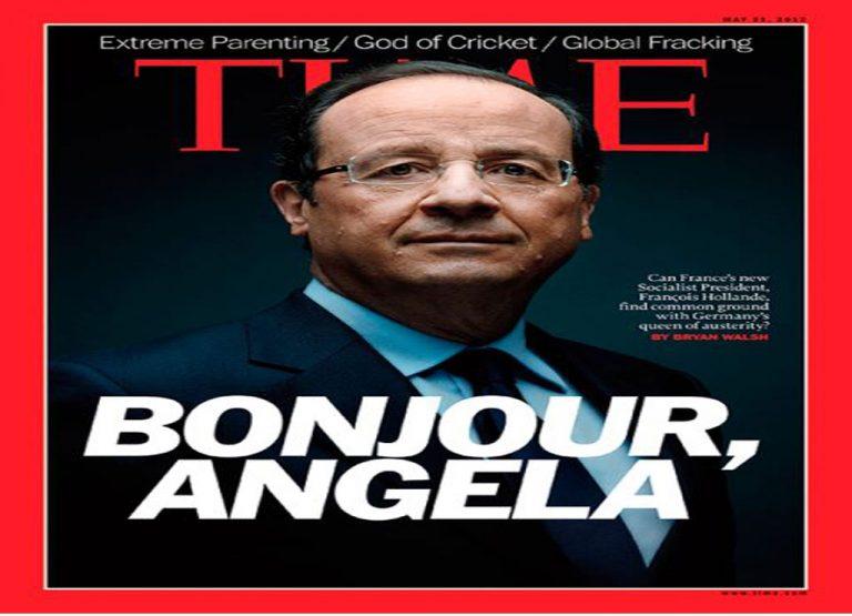 TIME: Θα τα βρουν ο σοσιαλιστής Γάλλος και η Γερμανίδα βασίλισσα της λιτότητας; | Newsit.gr