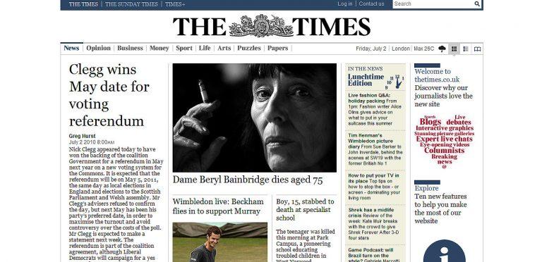 Τέλος οι… δωρεάν Times | Newsit.gr