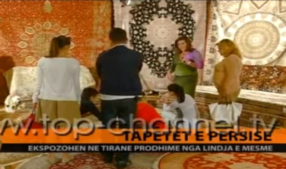 Η Δέσποινα Μοιραράκη πουλάει χαλιά σε εκπομπή στα Τίρανα! | Newsit.gr