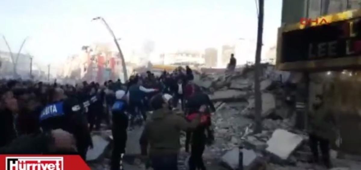 Κατέρρευσε 7όροφο κτίριο στην Τουρκία – 2 τραυματίες [pics, vid]   Newsit.gr