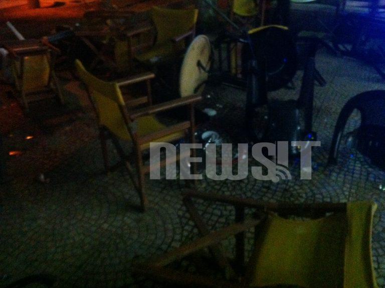 Ενταση στην πλατεία Αγίου Νικολάου – Έσπασαν μαγαζιά μεταναστών | Newsit.gr