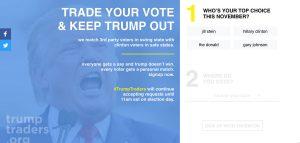 ΗΠΑ – Εκλογές: Έχω Τραμπ, έχεις Χίλαρι; «Σύννεφο» η ανταλλαγή ψήφων
