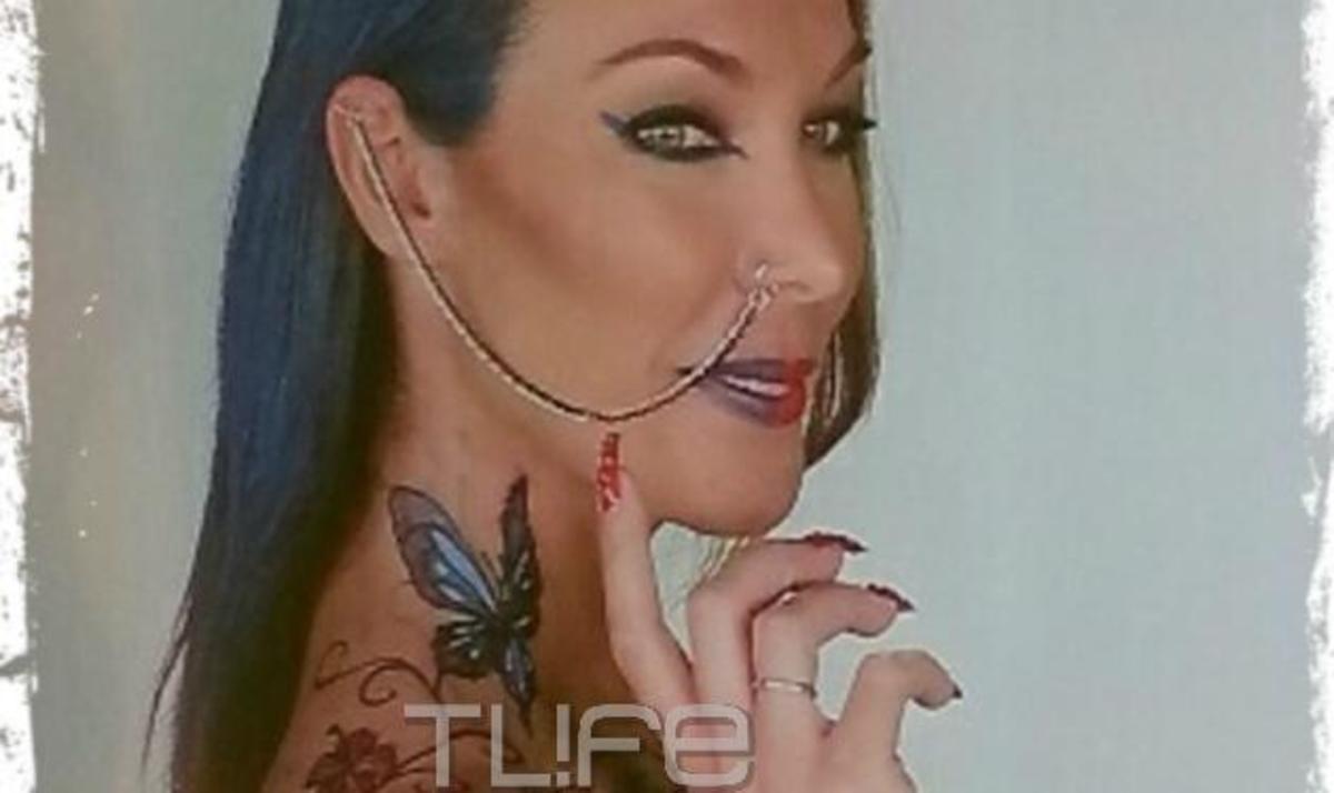 Δες την Τατιάνα Στεφανίδου με tattoo και piercing! | Newsit.gr