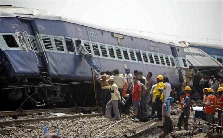 Ινδία: 71 νεκροί από σιδηροδρομικό δυστύχημα | Newsit.gr