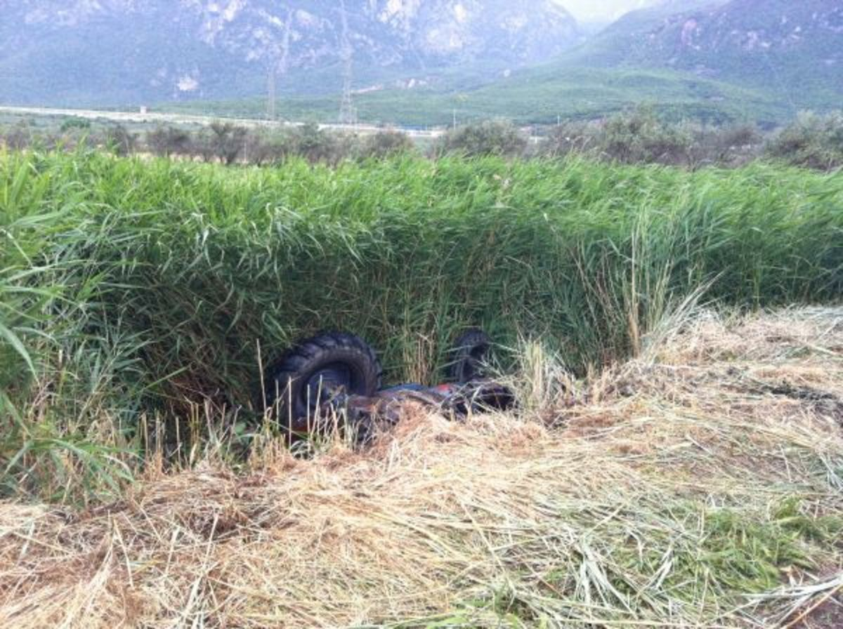 Φθιώτιδα: Βρήκε τον άντρα της νεκρό κάτω από το τρακτέρ του! | Newsit.gr