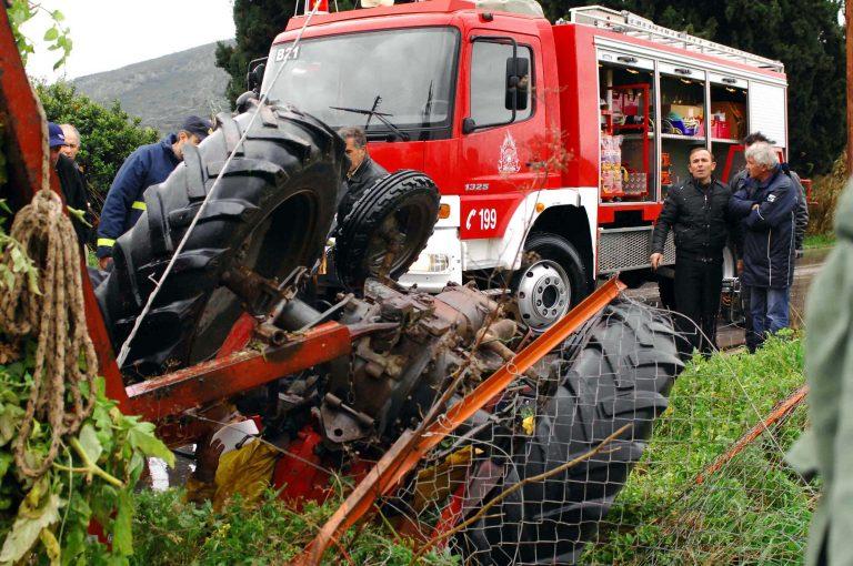 Φθιώτιδα: Ηλικιωμένος καταπλακώθηκε από το τρακτέρ του   Newsit.gr