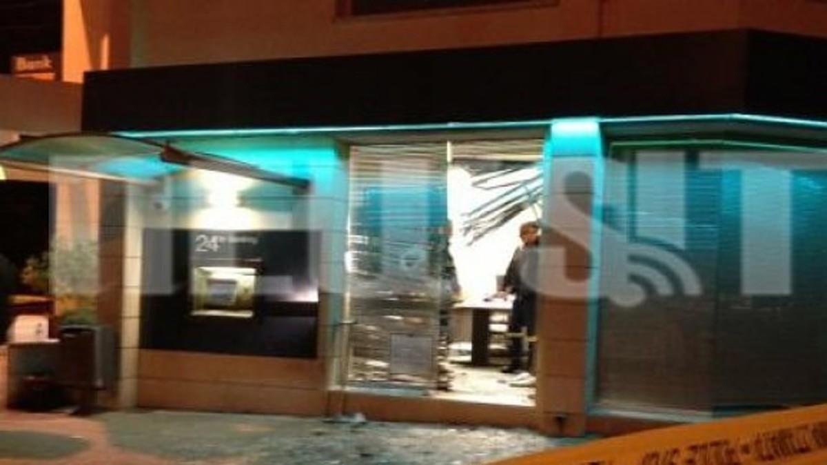 Έκρηξη σε υποκατάστημα της Τράπεζας Κύπρου   Newsit.gr