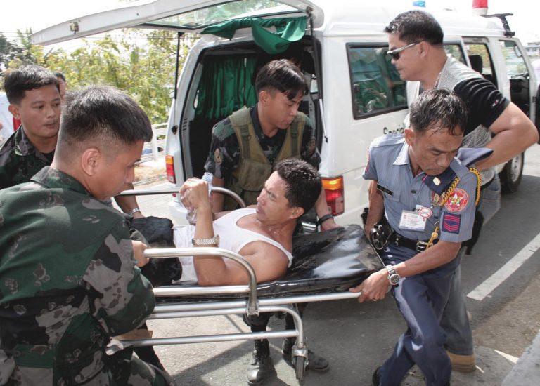 Επίθεση με 11 τραυματίες σε λεωφορείο στις Φιλιππίνες | Newsit.gr