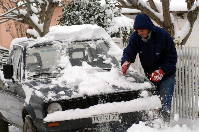 Τρίκαλα: Με αλυσίδες στα ορεινά του νομού | Newsit.gr