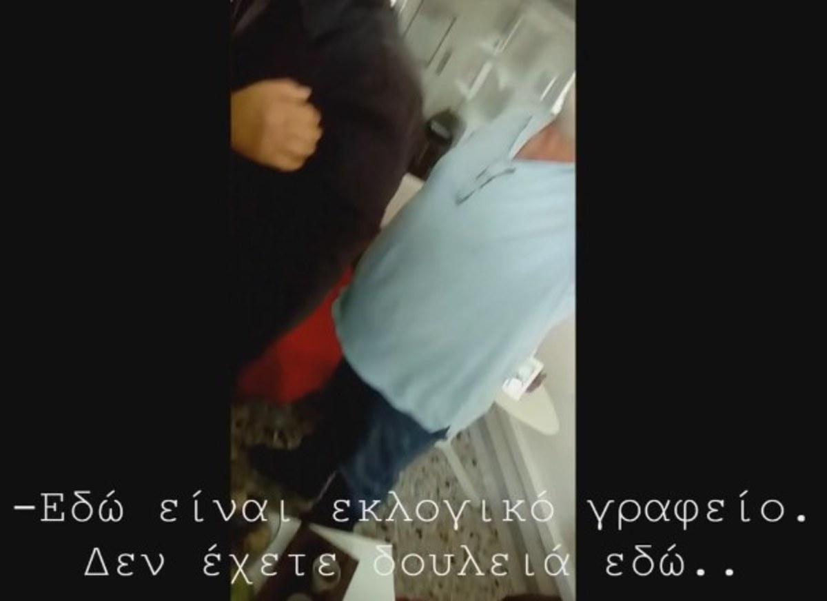 Χαμός στα γραφεία του ΣΥΡΙΖΑ Τρικάλων – Βίντεο με το επεισόδιο | Newsit.gr