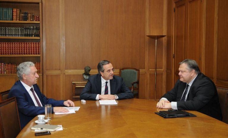 Σύσκεψη των τριών με φόντο τις απεργίες και τις δημοσκοπήσεις   Newsit.gr