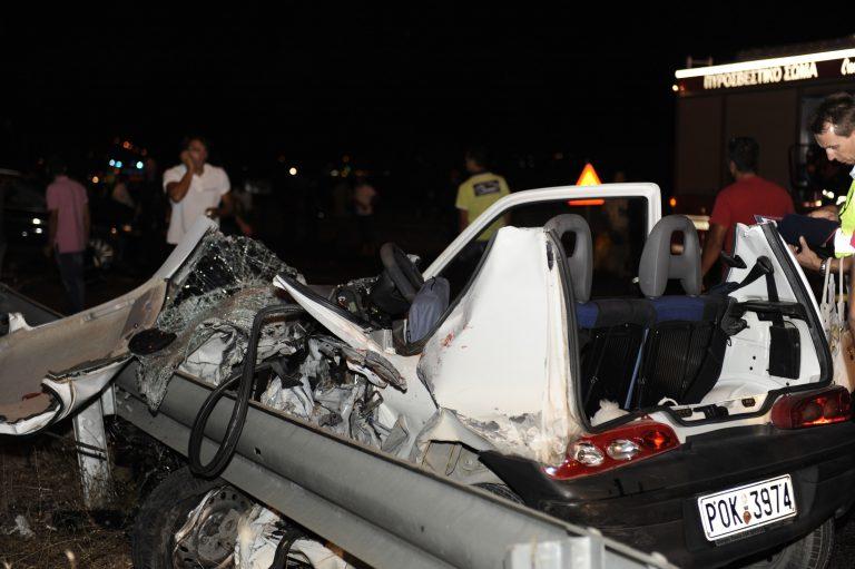 Tρεις νεκροί σε τροχαία στην Πελοπόννησο   Newsit.gr