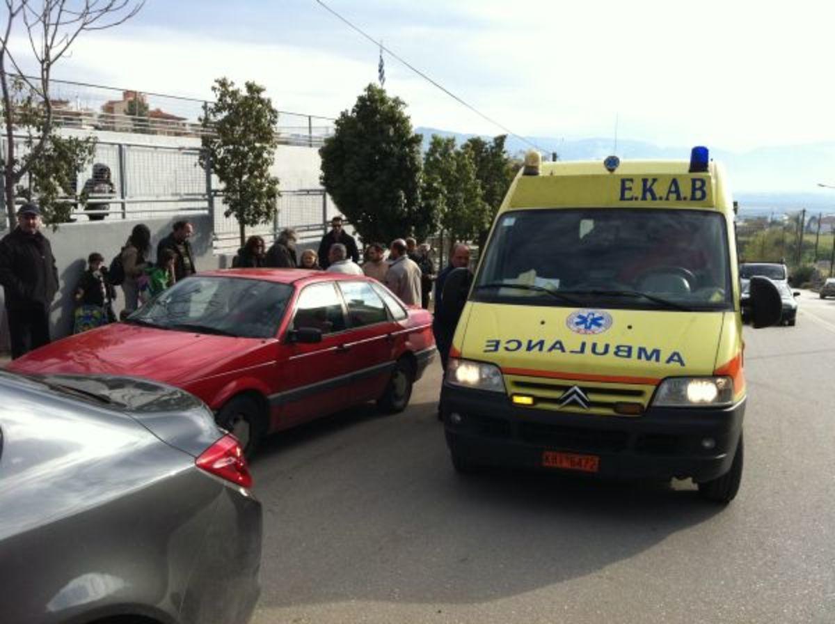 Λαμία: 7χρονη παρασύρθηκε από Ι.Χ. έξω από το σχολείο της | Newsit.gr