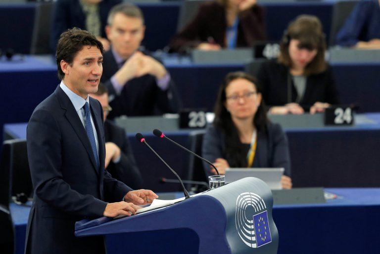 Αποθέωσε την ΕΕ και αποθεώθηκε – Ο Τριντό μάγεψε στο ευρωκοινοβούλιο | Newsit.gr