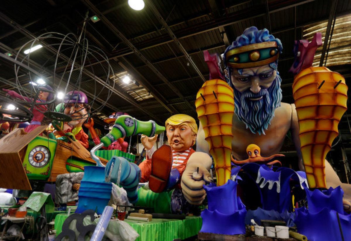 Ο Τραμπ στο καρναβάλι της Γαλλίας! Έγινε άρμα [pics] | Newsit.gr