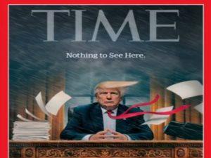Τραμπ: Θα καταλάβει τώρα ότι το περιοδικό Time τον «διαλύει»;