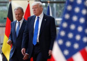 «Ενωμένη» Ευρώπη κατά Τραμπ – Δεν ήξερε από που του έρχονταν τα χαστούκια!