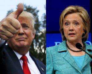 Δημοσκόπηση: Βίοι αντίθετοι! Πέφτει η Κλίντον ανεβαίνει ο Τραμπ!