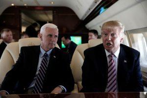 """Παραλήρημα Τραμπ για τη """"γιούχα"""" στον Πενς: Ζητήστε συγγνώμη!"""