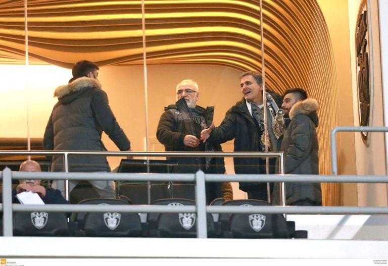 ΠΑΟΚ – Σάλκε: Ο Τσακαλώτος στη σουίτα με τον Σαββίδη! [pic] | Newsit.gr