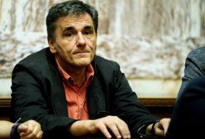 Eurogroup: Συναντήσεις Τσακαλώτου με Ντάισελμπλουμ και Σαπέν