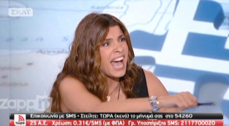 Έξαλλη η Τσαπανίδου με τον Γεωργιάδη για τη λίστα που δημοσιοποίησε ο Βαξεβάνης   Newsit.gr